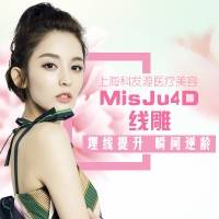 上海埋线提升 MisJu 4D面部埋线提升 10根PDO大V线加80根蛋白线