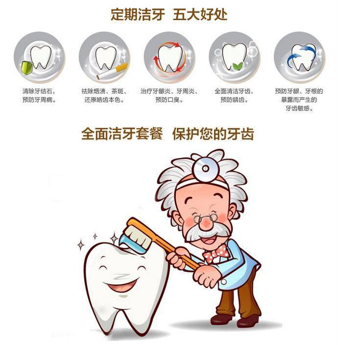 如何洗牙步骤图解